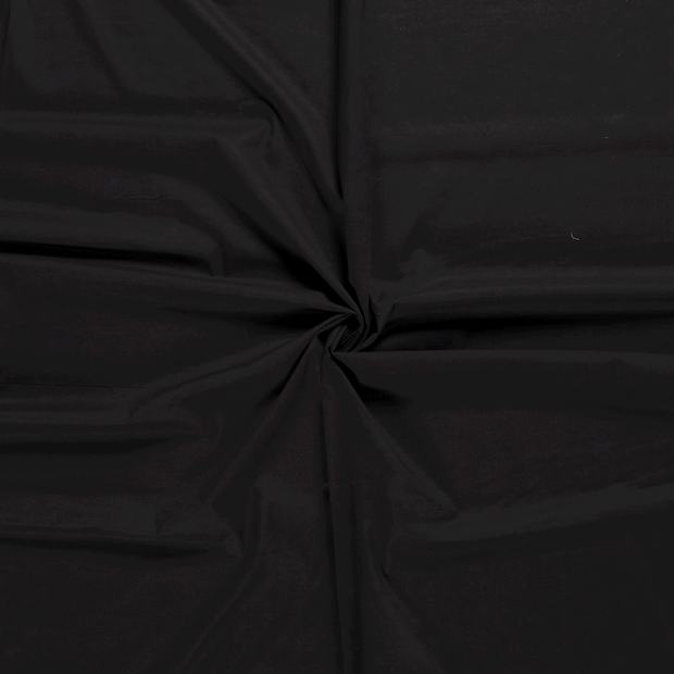 Voile fabric Black