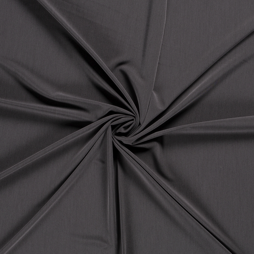 Polyester Mix fabric Dark Grey