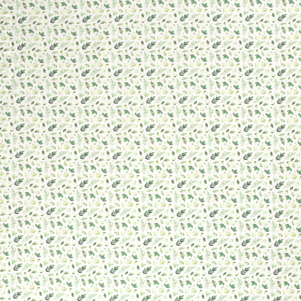 Tricot fabric Off White soft