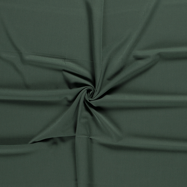 Gabardine fabric Dark Green brushed