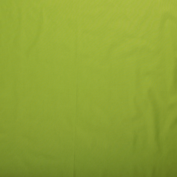 Poplin fabric Lime Green matte