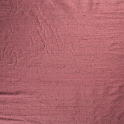 Silk Dupion fabric Old Pink slightly shiny