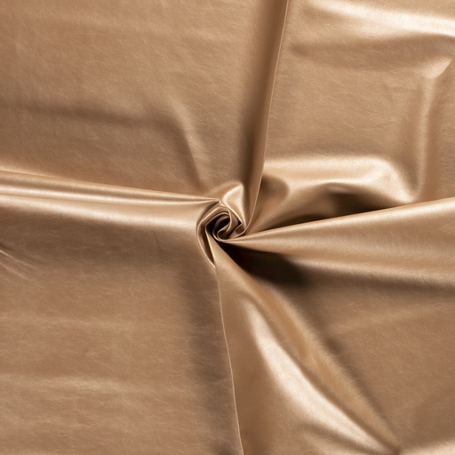 Imitation leather fabric Gold backed