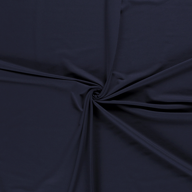 French Terry fabric Navy