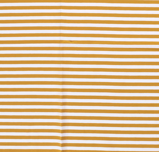Tricot fabric Stripes Oker