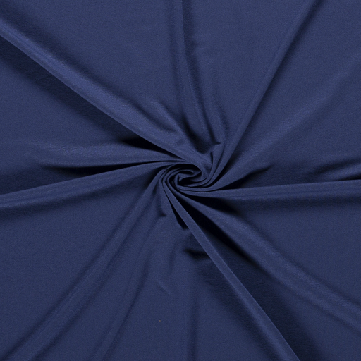 Jersey fabric Unicolour Indigo