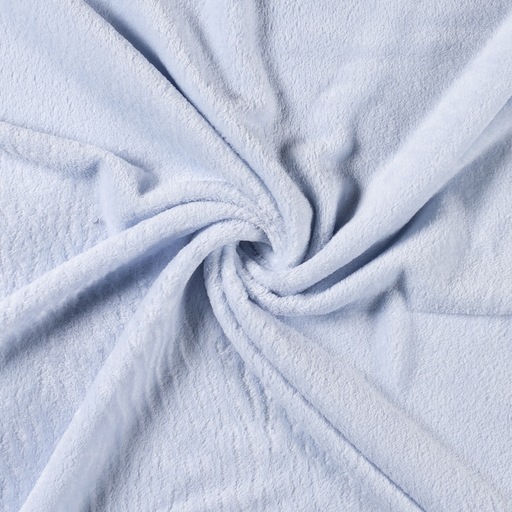 Fleece fabric Unicolour Baby Blue