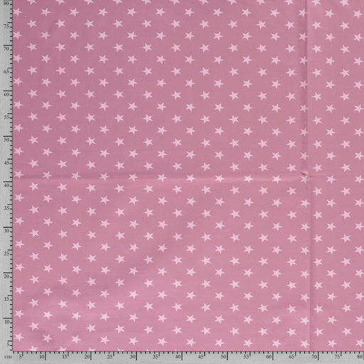 French Terry fabric Stars printed
