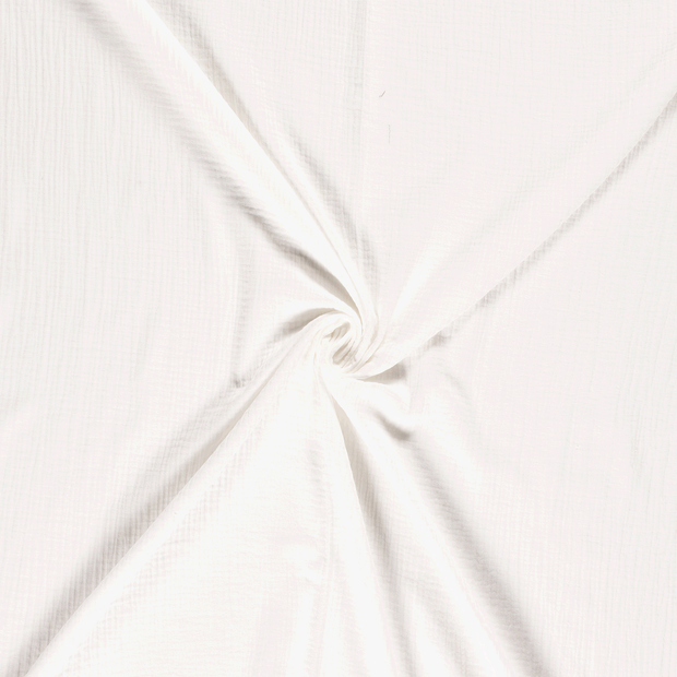 Muslin fabric Off White