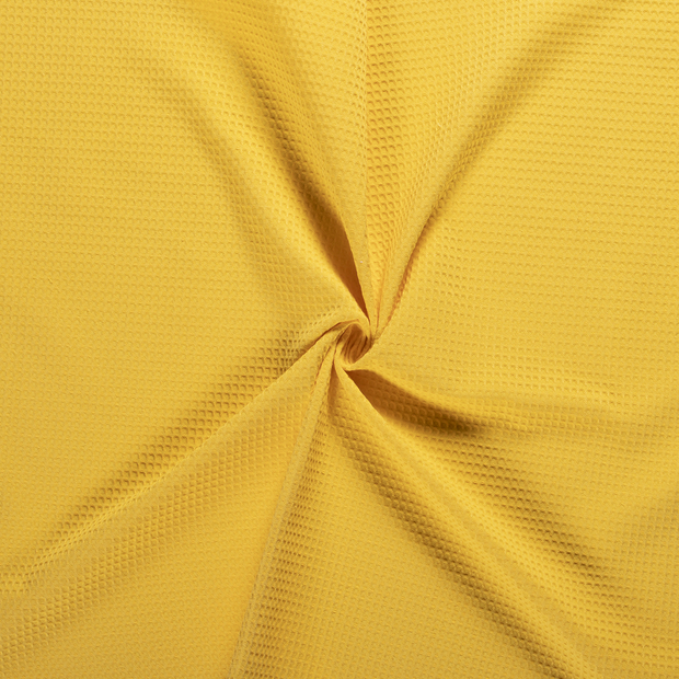 Towelling fabric Yellow