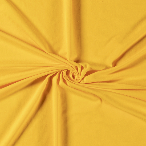 Tricot fabric Unicolour Yellow