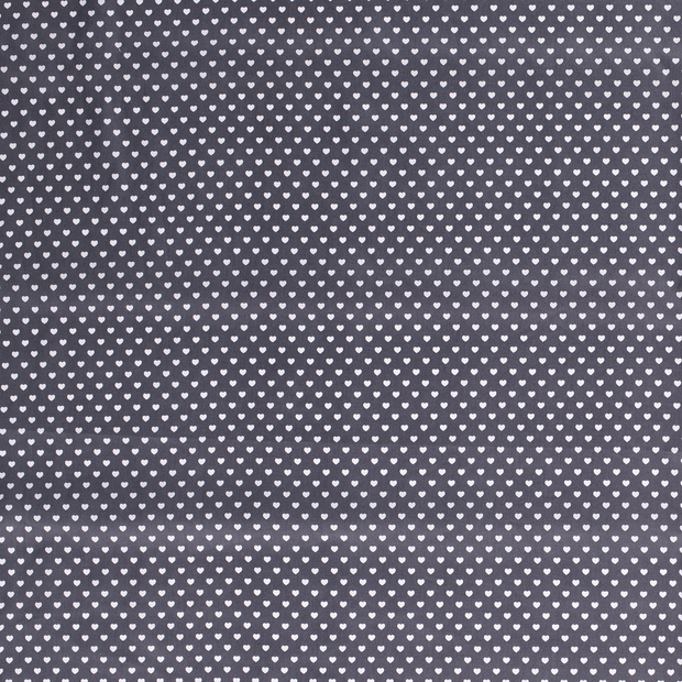 Poplin fabric Middle Grey soft
