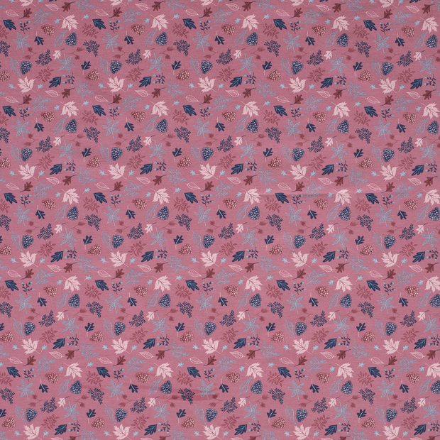 Loneta fabric Dark Pink