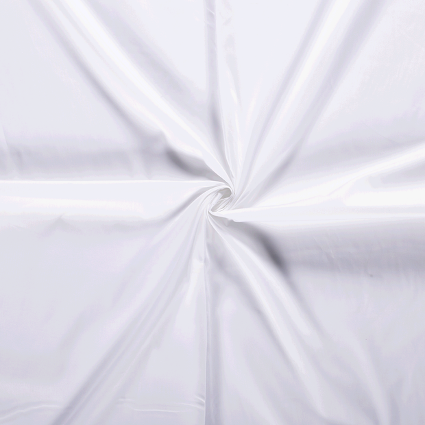 Poplin fabric Unicolour Optical White
