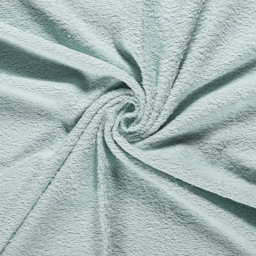 Towelling fabric Unicolour Mint
