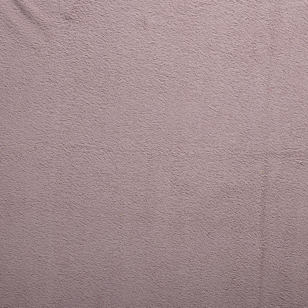 Towelling fabric Old Pink matte