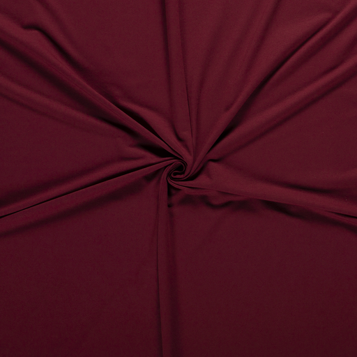 French Terry fabric Bordeaux