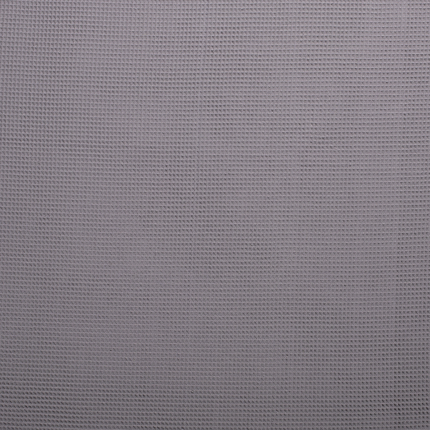 Towelling fabric Middle Grey matte