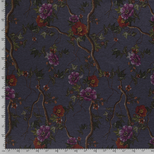 Punta Di Roma fabric Flowers printed