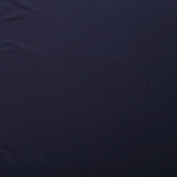 French Terry fabric Navy matte