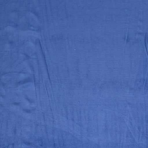 Nicky velours fabric Cobalt soft