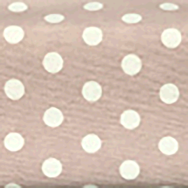 Panama fabric Dots Dark Pink