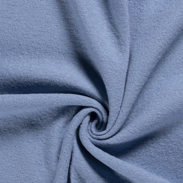 Woollen cloth fabric Unicolour Baby Blue