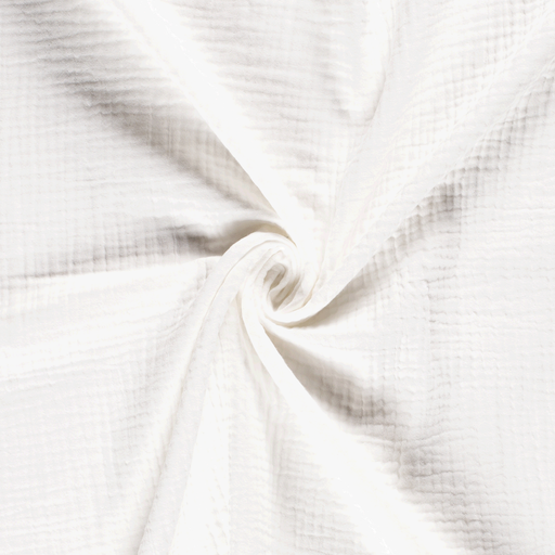 Muslin fabric Unicolour Off White