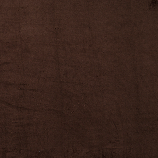 Fleece fabric Dark Brown soft