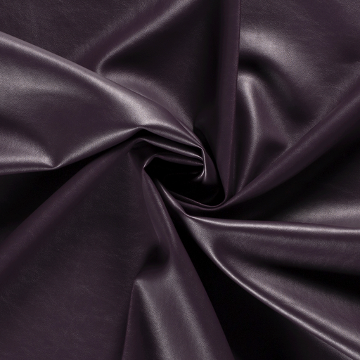 Imitation leather fabric Unicolour
