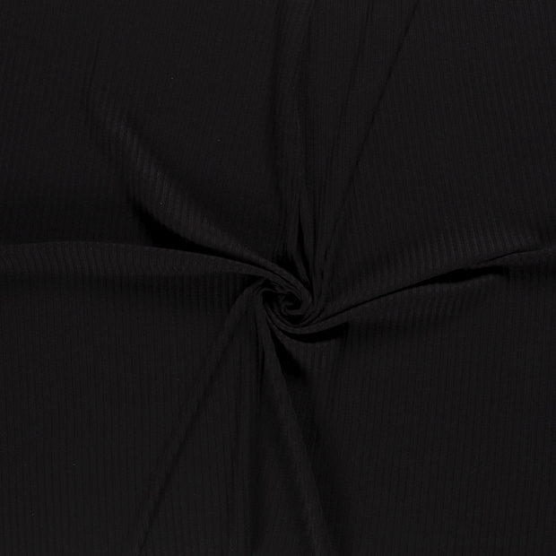 Knitted fabric fabric Black