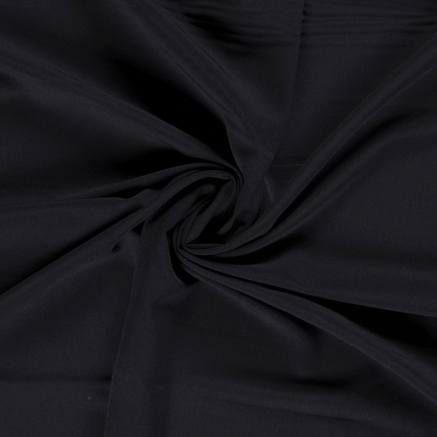 Polyester Mix fabric Unicolour Navy