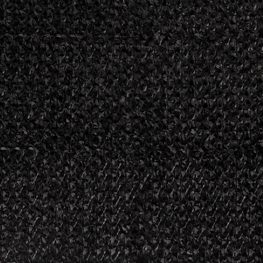 Mesh fabric Black slightly shiny