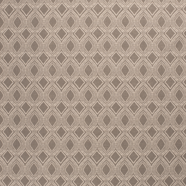 Linen Look fabric Dark Grey matte