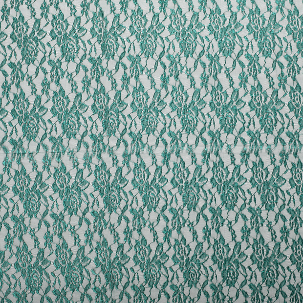 Lace fabric Forest Green slightly shiny
