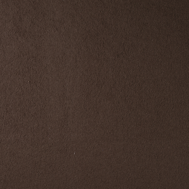 Boiled wool fabric Taupe Brown matte