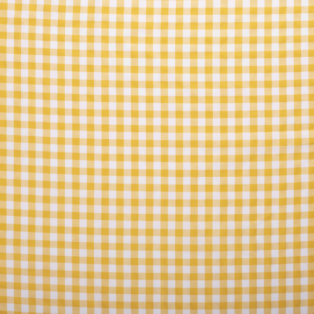 Cotton others fabric Yellow matte