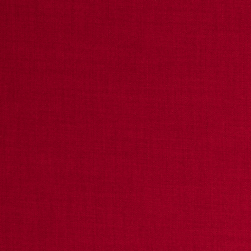 Panama fabric Unicolour Red