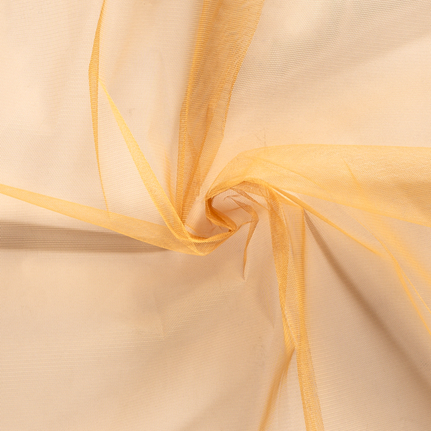 Tulle fabric Unicolour Camel