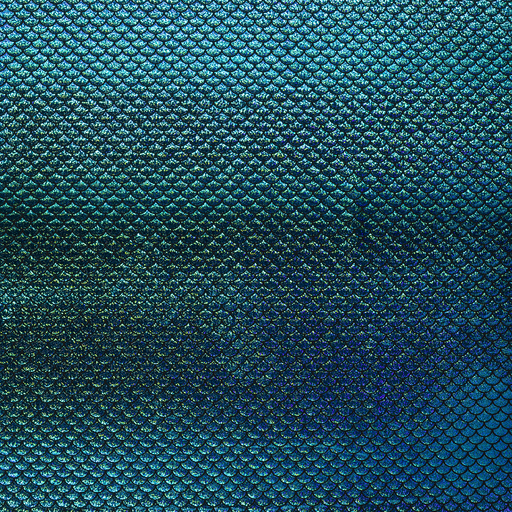 Foil jersey fabric shiny
