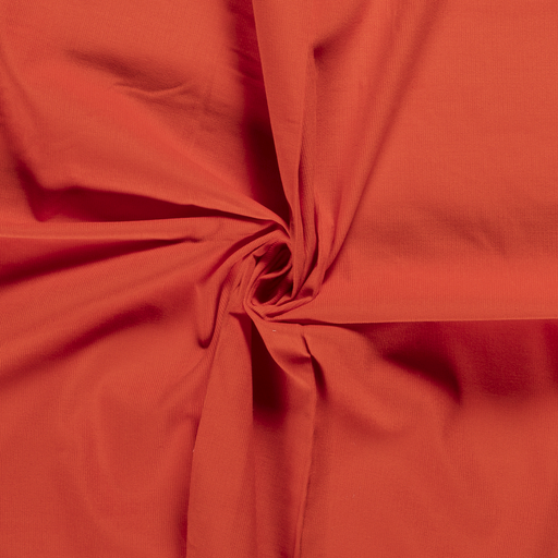 Corduroy fabric Unicolour Orange