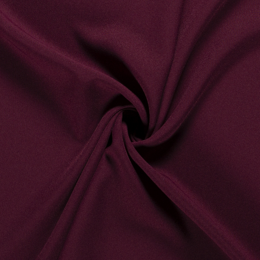 Power Stretch fabric Unicolour Wine red