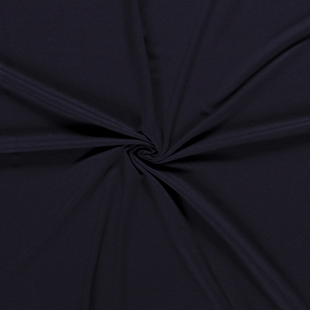 Jersey fabric Unicolour Navy