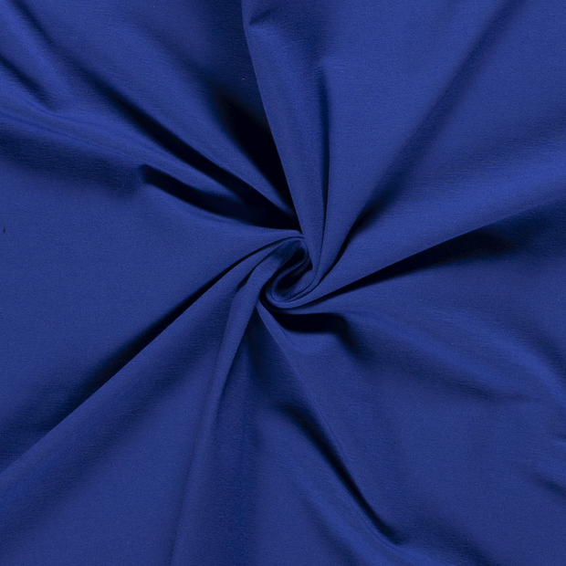 Tricot fabric Unicolour Cobalt