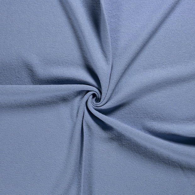 Woollen cloth fabric Baby Blue
