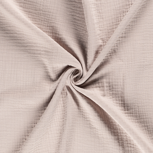 Muslin fabric Unicolour Beige