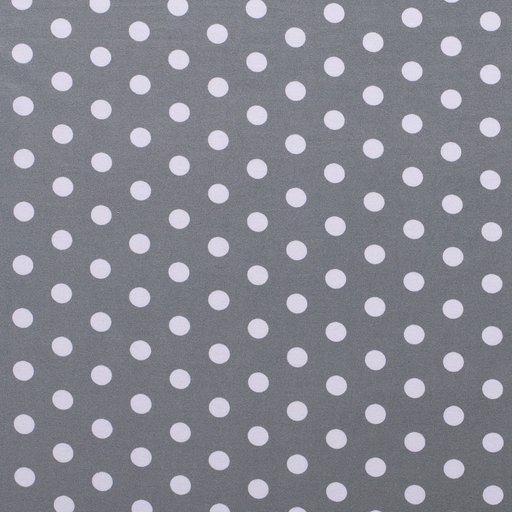 Jersey fabric Dots Light Grey