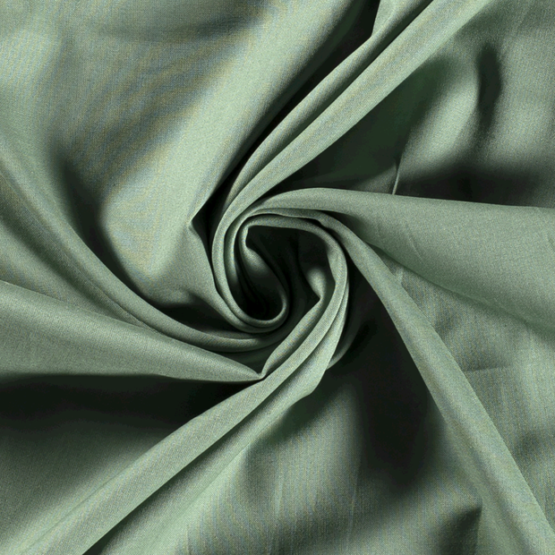 Poplin fabric Unicolour Mint