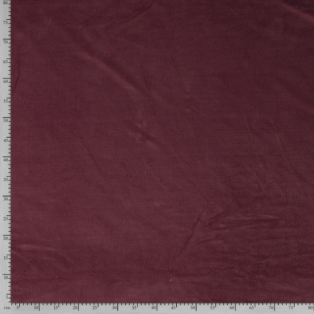 Fleece fabric Unicolour