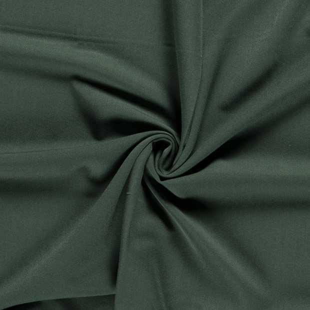 Gabardine fabric Unicolour Dark Green